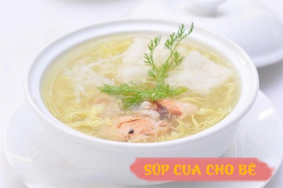Cach nau sup cua cho be