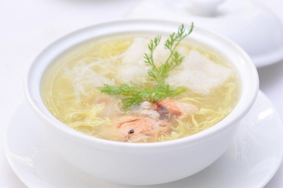 Sup cua uc ga ngon cho be duoi 1 tuoi