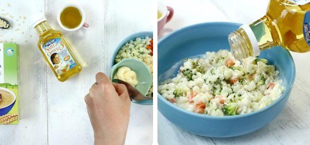 huong dan lam salad pasta cho be