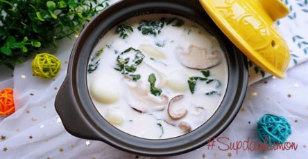 huong dan lam sup dau hu non cho be