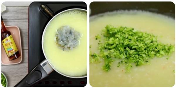 Huong dan nau sup tom bong cai xanh