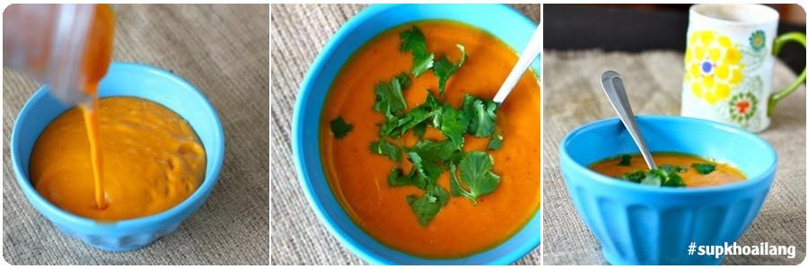 Mon sup khoai lang cho be an dam