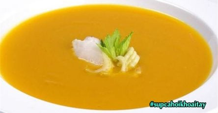 Sup ca hoi khoai tay