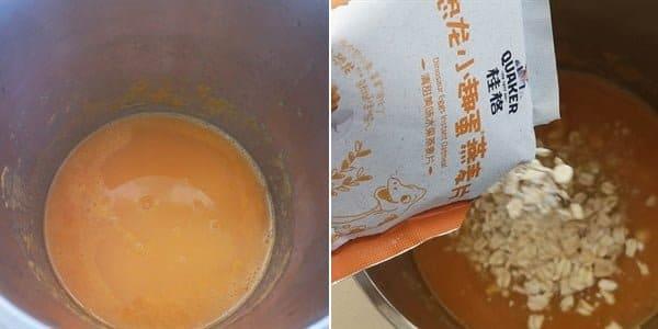 Nau sup yen mach khoai lang cho be